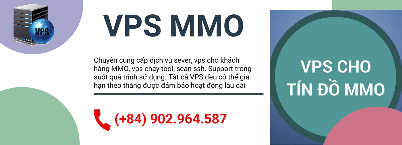 VPS MMO Chính Hãng, Giá Uy Tín, Chất Lượng - VPSMMO.XYZ